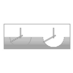 Dimensioni 80cmx30cm